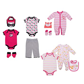 Impartial 4 X Girls Bodysuits Size 3 Mths One-pieces Baby & Toddler Clothing
