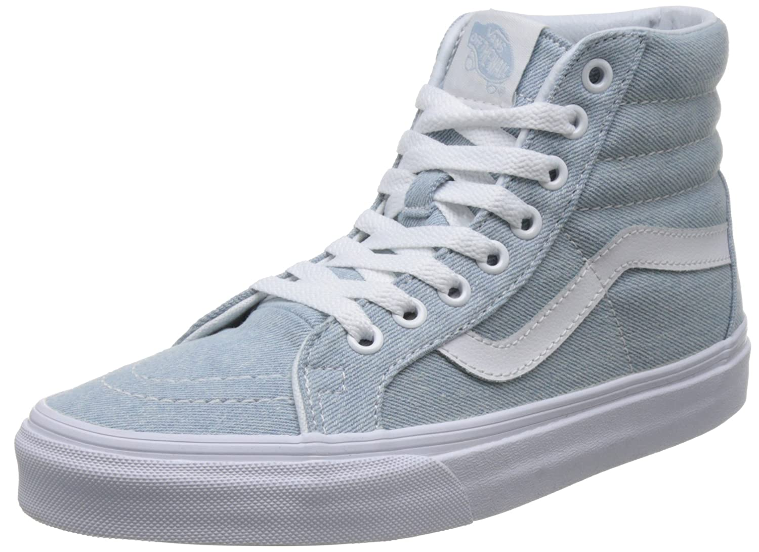 VANS MENS SK8 HI REISSUE LEATHER SHOES B076CV26VK 6 D(M) US / 7.5 B(M) US|Baby Blue