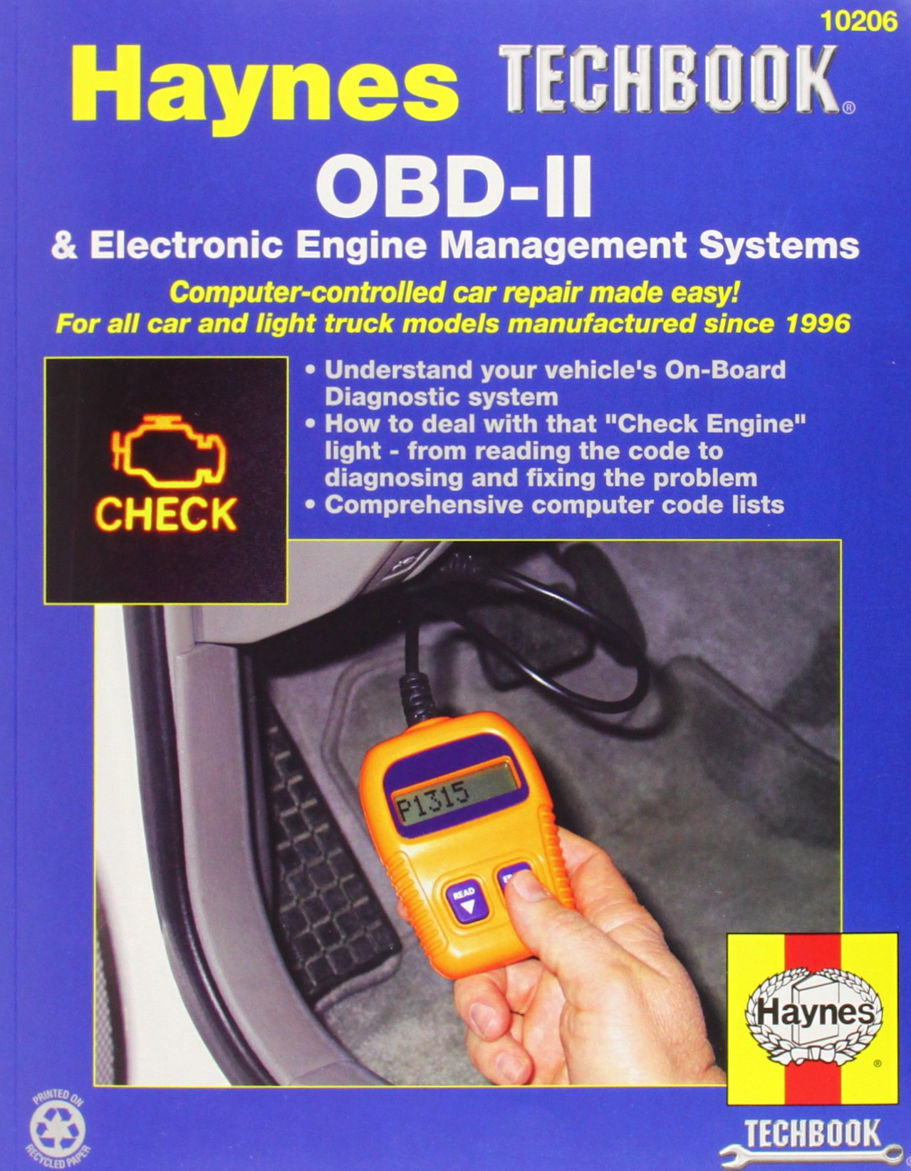 OBD-II & Electronic Engine Management Systems Techbook (Haynes Repair  Manuals): Haynes: 0038345102066: Amazon.com: Books