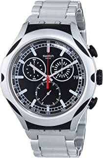 092780b59 Amazon.com: Swatch Men's YAS100G Automatic See Through Dial Crystal ...