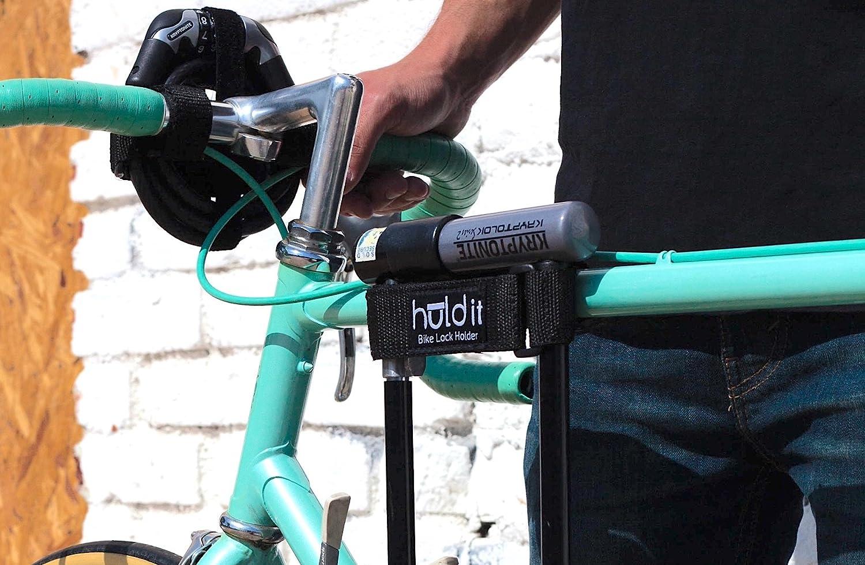 Huldit Bike U-Lock Holder, D Lock Holder, Lock Mount
