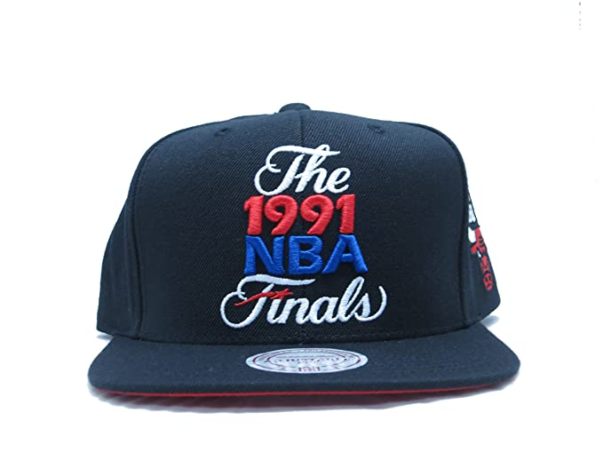9c9603f2f6d Image Unavailable. Image not available for. Colour  Mitchell   Ness NBA  Chicago Bulls 1991 Finals ...