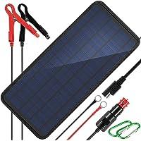 KINGSOLAR 10W 12v Solar Car Battery Charger, 12 Volts Solar Trickle Charger, Solar Panel Battery Maintainer,Portable…