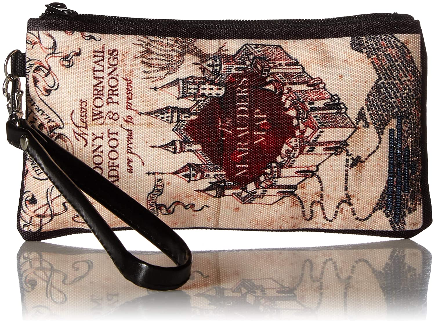 "Buckle-Down Buckle-Down Zip Wallet Harry Potter Large Accessory, Harry Potter, 8"" x 5"""