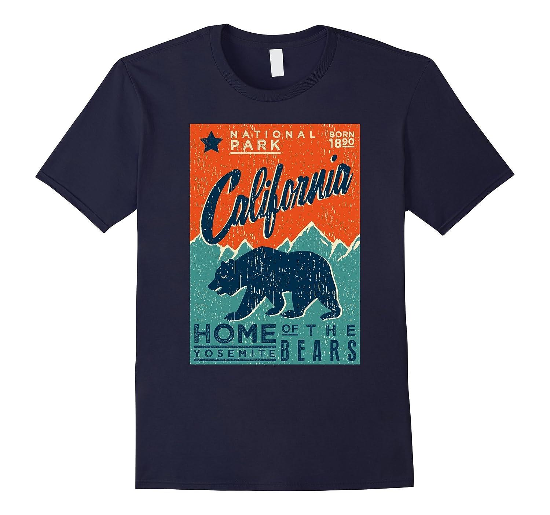 California Yosemite - Home of the Bears T Shirt-FL