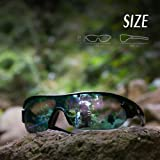 TOREGE Polarized Sports Sunglasses with 5