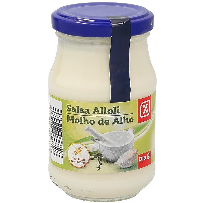 DIA - Salsa Alioli Frasco 210Ml