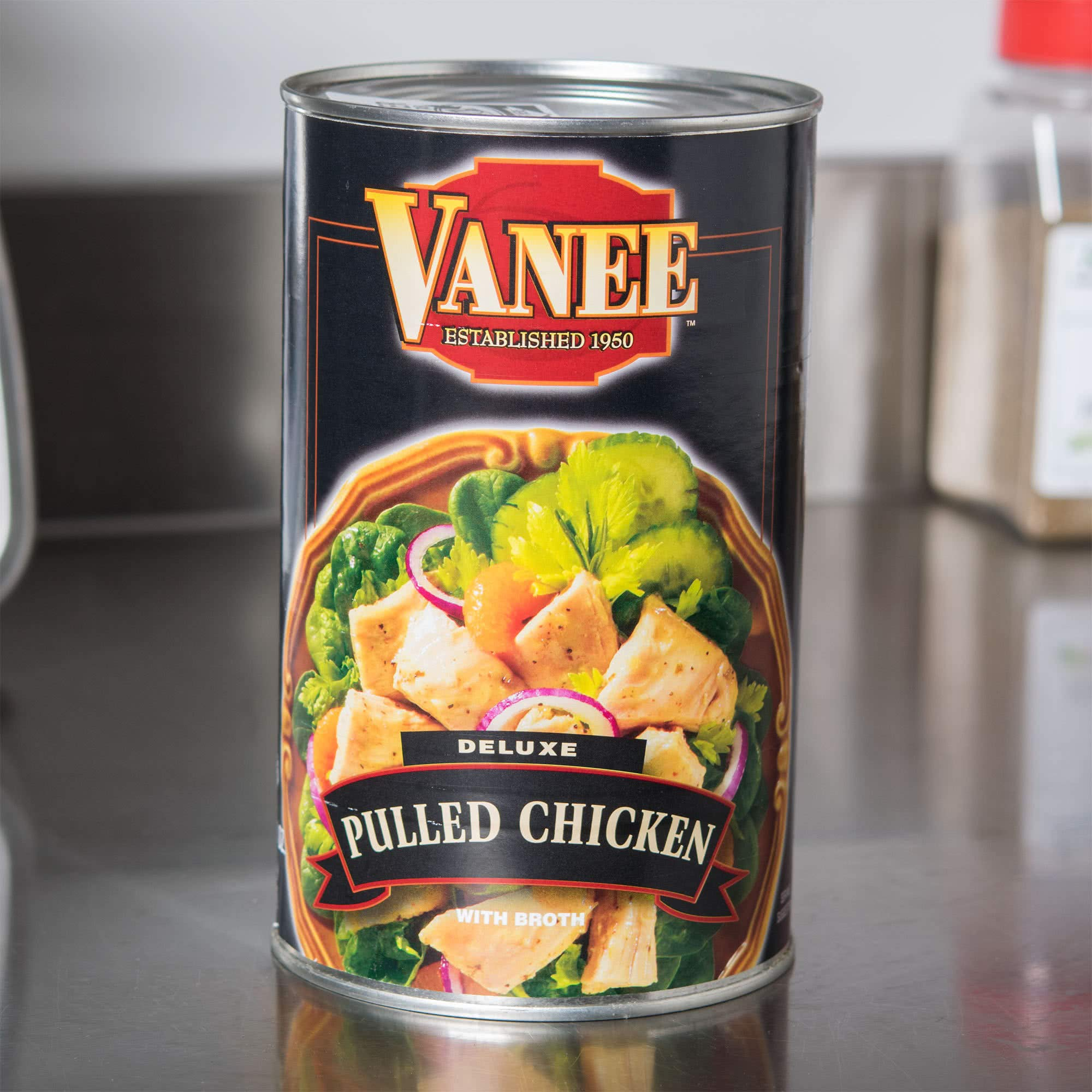 TableTop King 50 oz. Can Boned Chicken - 6/Case