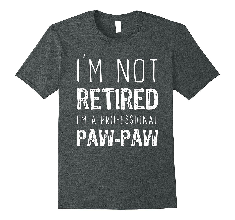 Retired Professional Paw Paw T Shirt Large-Samdetee