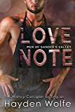 Love Note: Billionaires. Blue Jeans. Forever Love. (Men of Sander's Valley Book 3)
