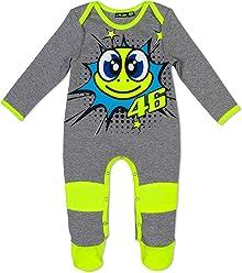 Valentino Rossi VR46 Baby Overall Pop Art Grey 2019
