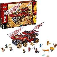 Lego Ninjago Kara Gemisi Oyuncak Ninja Kamyonu Yapım Seti Ve Ninja Minifigürler, 1178 Parça