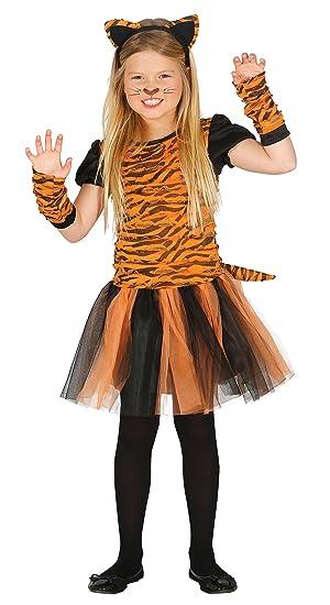 guirca Costume u2013 Tiger Girl Size 7 u2013 9 Years (87540.0)  sc 1 st  Amazon UK & guirca Costume - Tiger Girl Size 7 - 9 Years (87540.0): Amazon.co ...