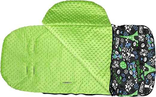 Baby Changing Bag Portable Diaper bag for Stroller Pram black P064