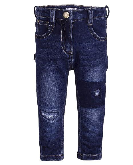 Gulliver Baby M/ädchen Jeans Hose Blau Distressed Effekt