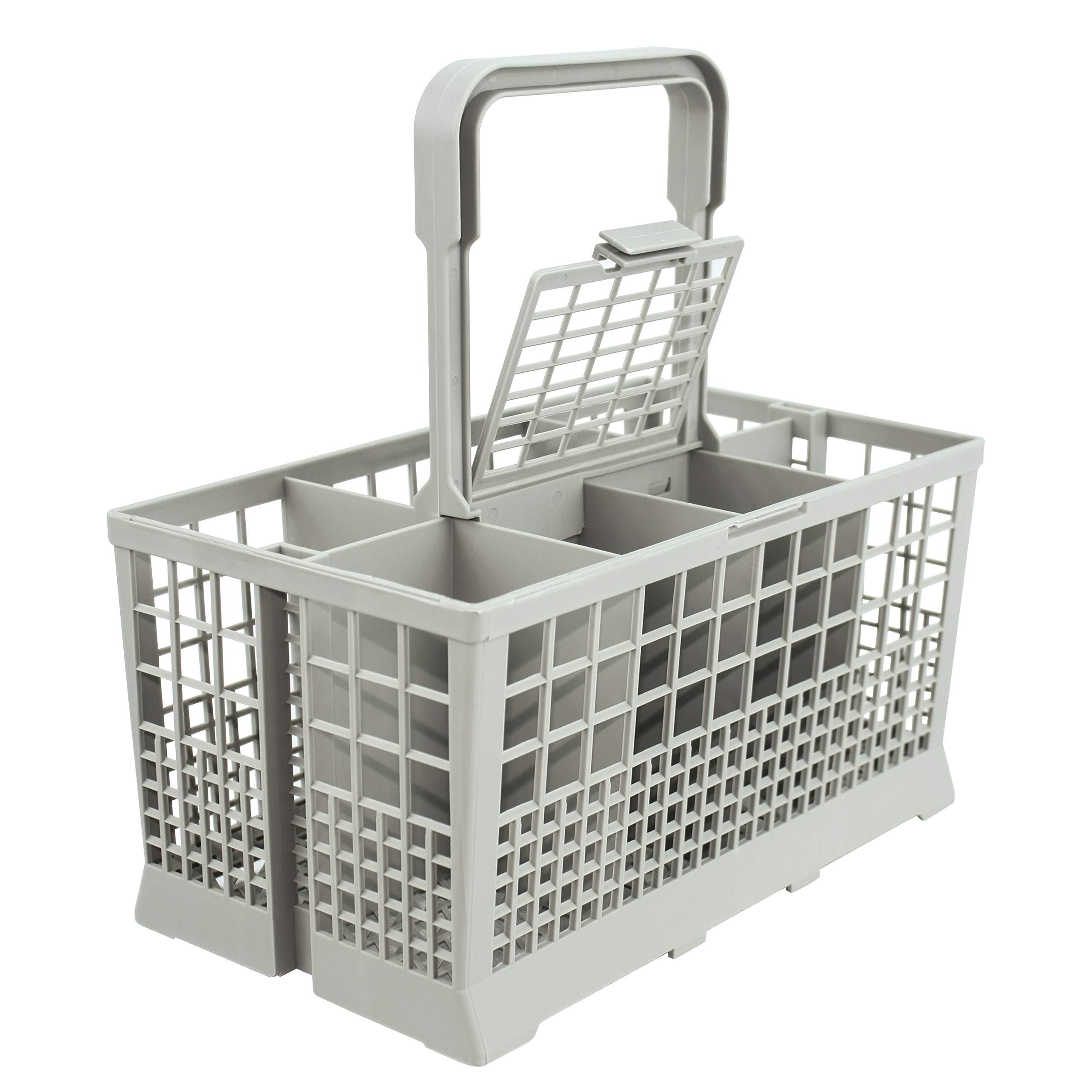 Universal Dishwasher Cutlery Basket (9.5'' x 5.4''x 4.8'') fits Kenmore, Whirlpool, Bosch, Maytag, KitchenAid, Maytag, Samsung, GE, and more