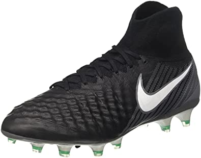 33254fcec9eb Nike Men s Magista Obra II FG Total Crimson Black University Red Soccer  Shoes -