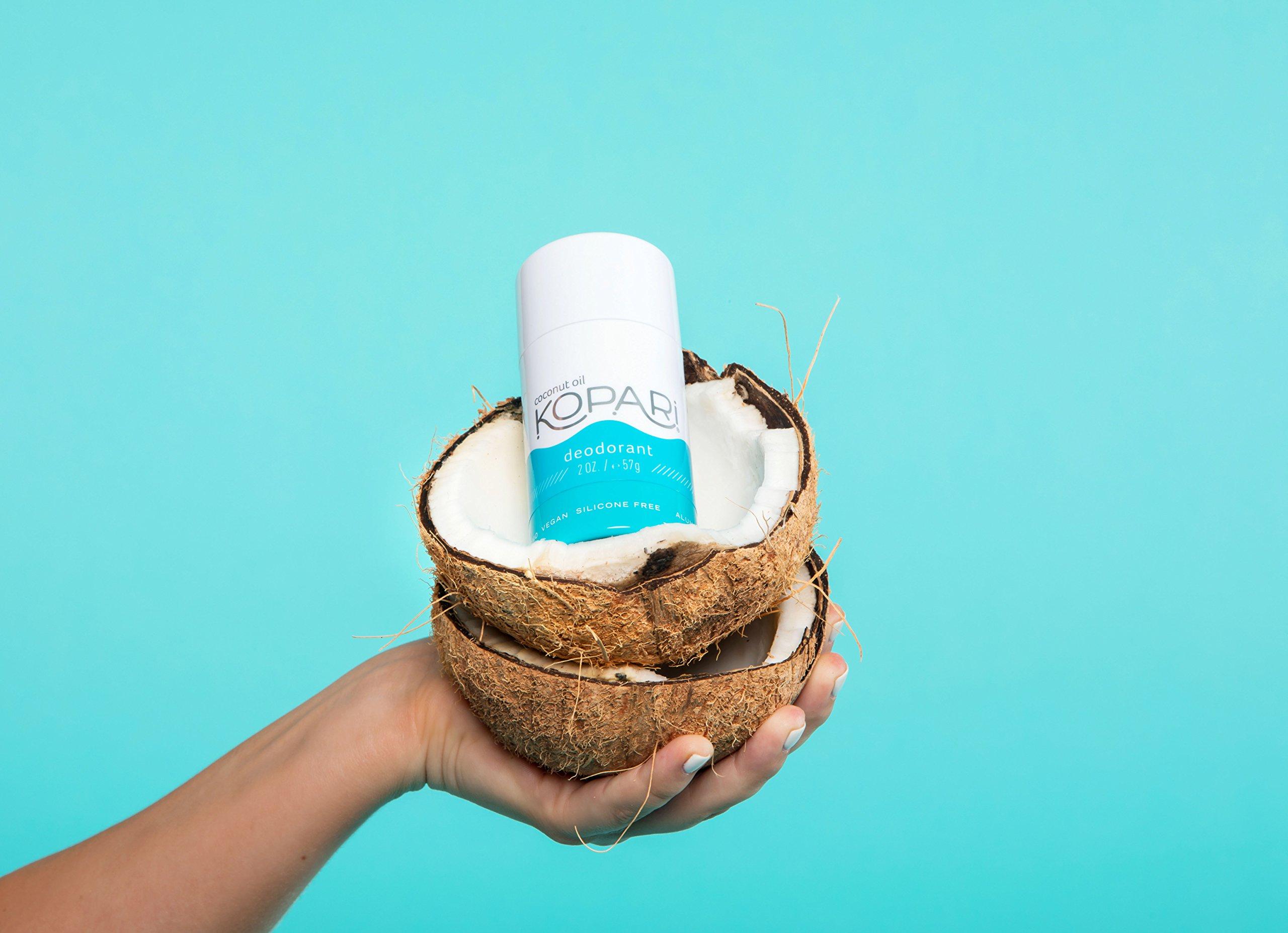 Kopari Aluminum-Free Deodorant | Non-Toxic, Paraben Free, Gluten Free & Cruelty Free Men's and Women's Deodorant | Made with Organic Coconut Oil | 2.0 oz by Kopari (Image #3)