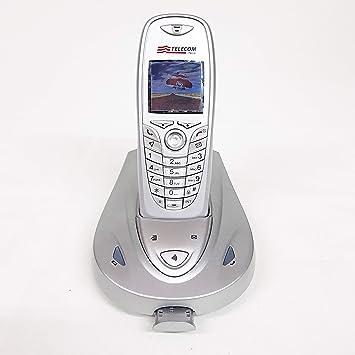 Teléfono Fijo inalámbrico Aladino Slim 4, teléfono doméstico con Agenda, Manos Libres, Lector de Tarjetas SIM para transferir contactos: Amazon.es: Electrónica