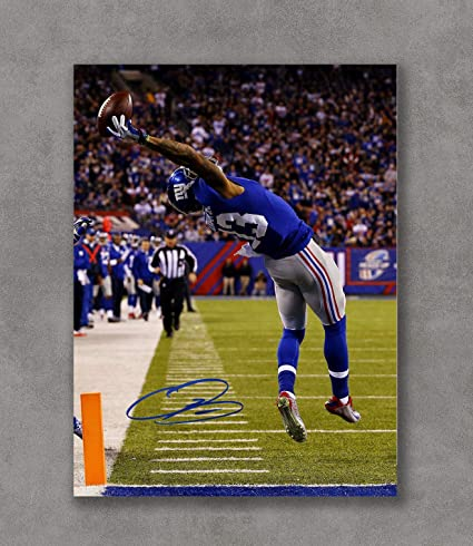 d2349b9cfdf Image Unavailable. Image not available for. Color  Kai Sa Odell Beckham Jr  Autograph Replica Poster ...