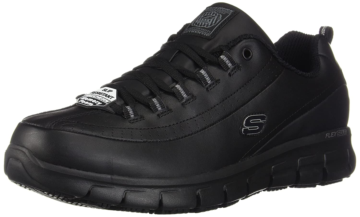 Skechers Women's Sure Track Trickel Slip Resistant Work Shoes 76550