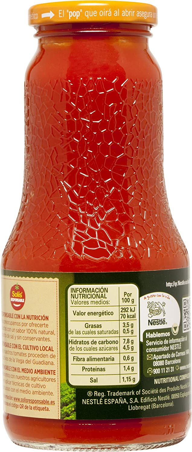 Solís Tomate Frito Aceite Oliva, 360g