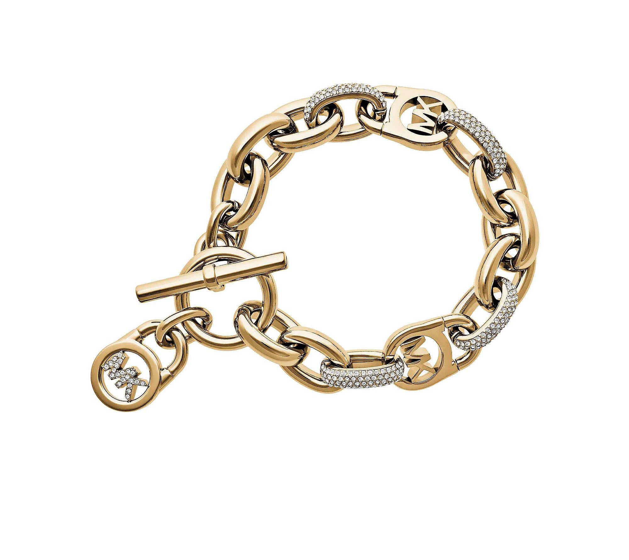 Michael Kors Pav= Link Bracelet