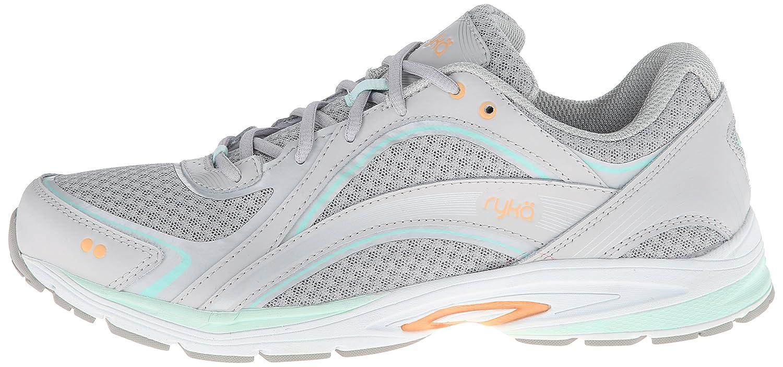 Ryka Women's Sky Walking Shoe B00HNDB7FO 10 B(M) US|Chrome Silver/Cool Mist Grey/Mint Ice