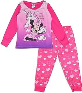 M/ädchen Lang Pyjama Schlafanzug Minnie Mouse Baby