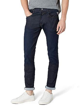 d9265988e9 Replay Men's Anbass Stretch Jeans, Blue (Blue Denim 7), W29/ L30