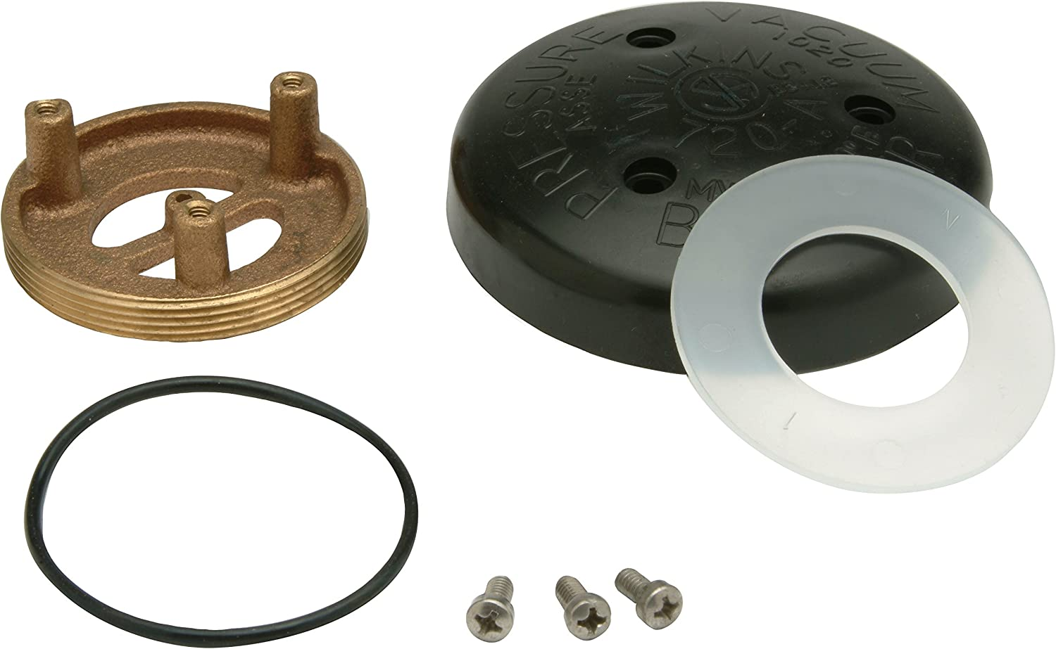 "Zurn RK1-720AB Wilkins Pressure Vacuum Breaker (PVB) Bonnet Repair Kit for 1/2"" to 1"" Model 720A and for 0.5"" to 1"""