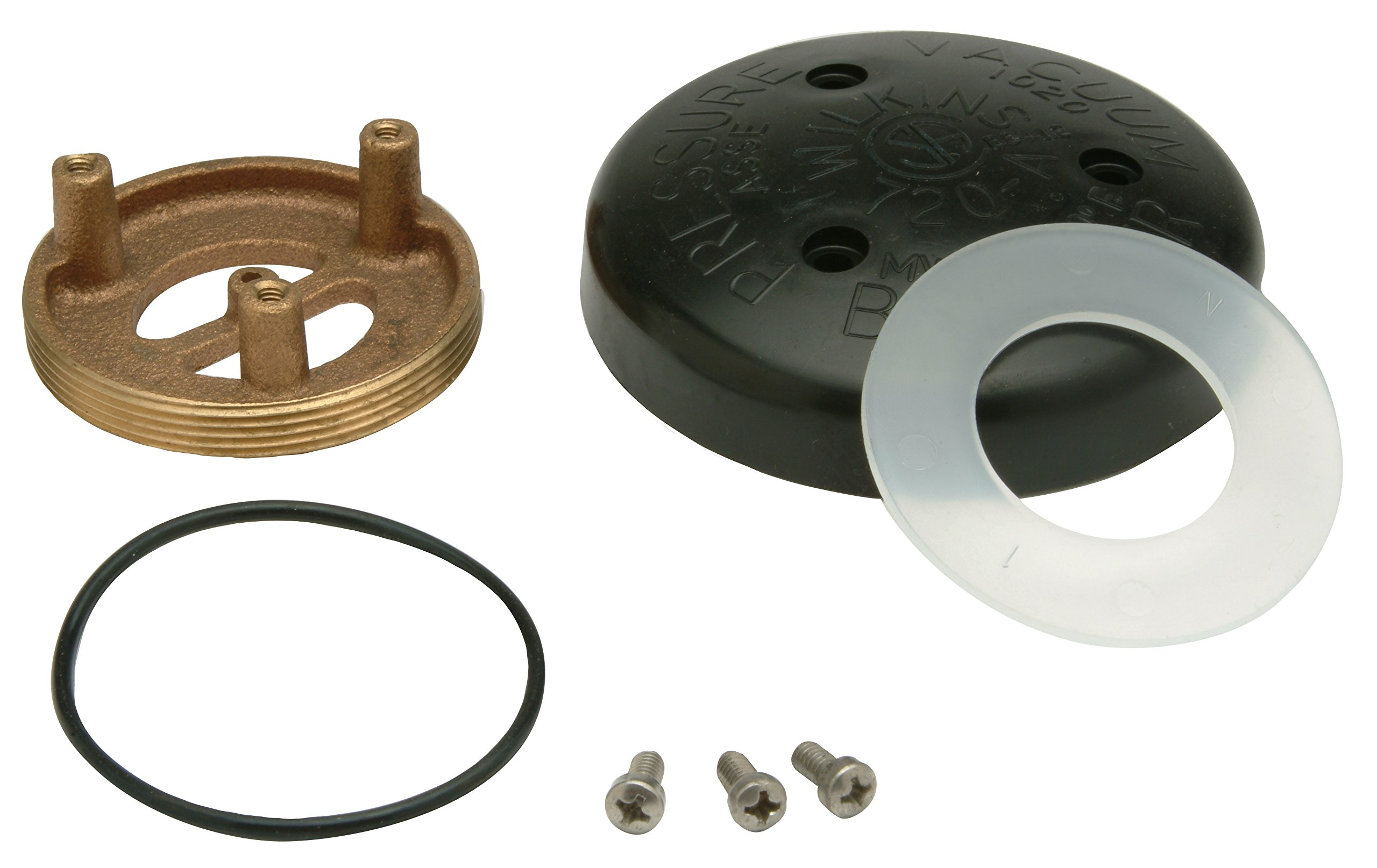 Zurn RK1-720AB Wilkins Pressure Vacuum Breaker (PVB) Bonnet Repair Kit for 1/2'' to 1'' Model 720A and for 0.5'' to 1'' by Zurn (Image #1)