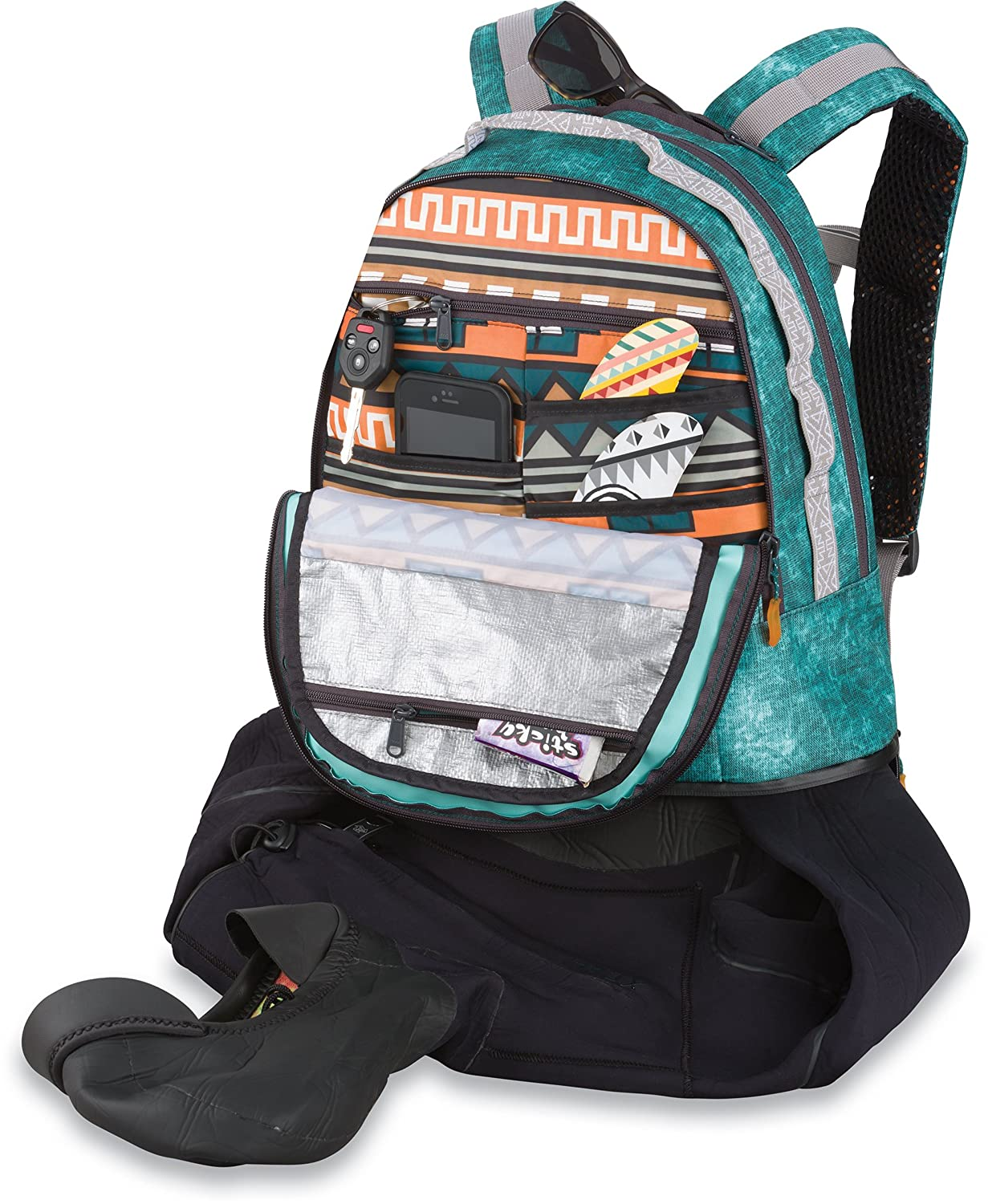 Amazon.com: Dakine Interval Wet/Dry Surf Backpack: Sports & Outdoors