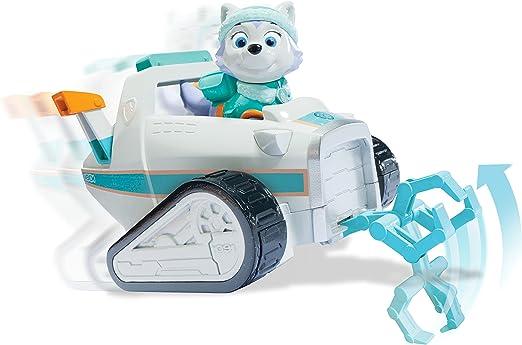 Paw Patrol - Everest vehículo de Rescate para Nieve con Figura (Spin Master 6027649): Amazon.es: Juguetes y juegos