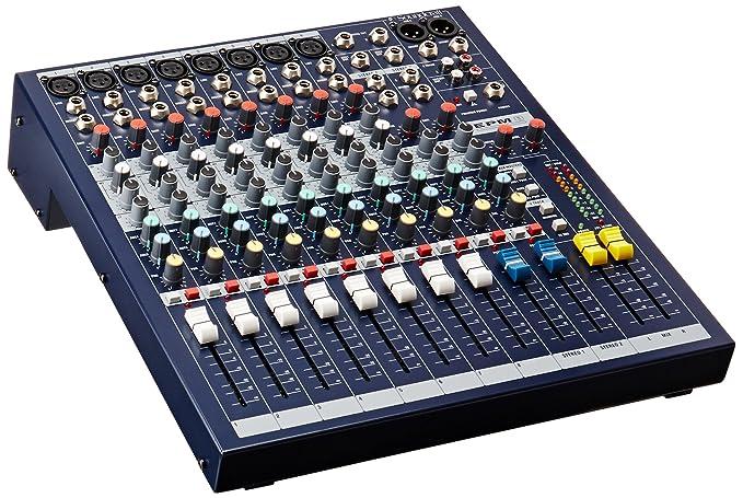 1 opinioni per Soundcraft EPM8- Console mono a 6 vie + 2 canali stereo (8 ingressi microfonici
