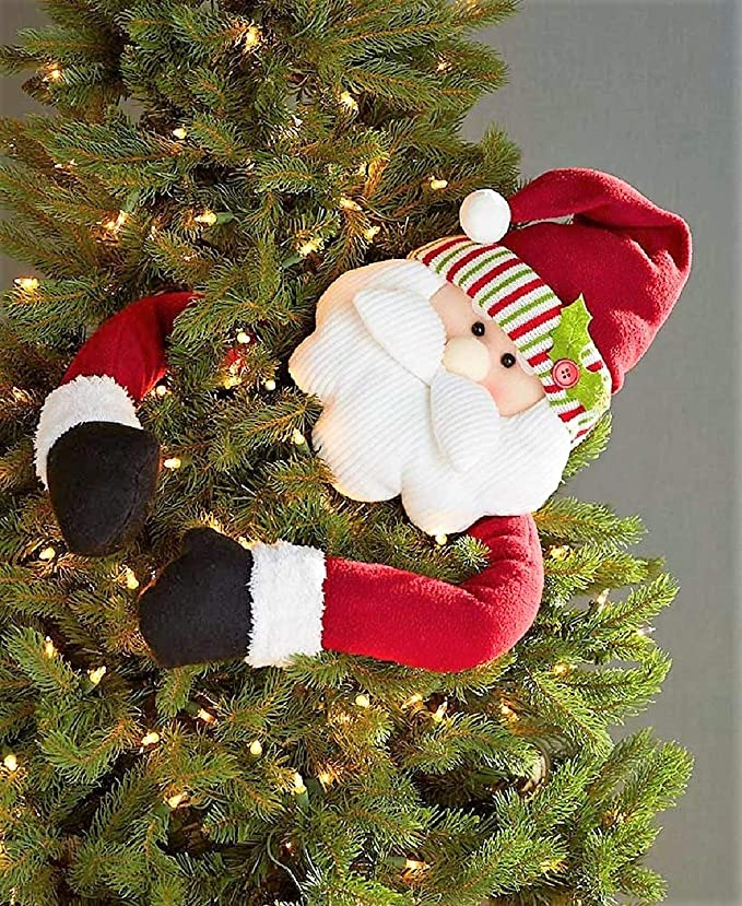 Santa Christmas Tree Hugger