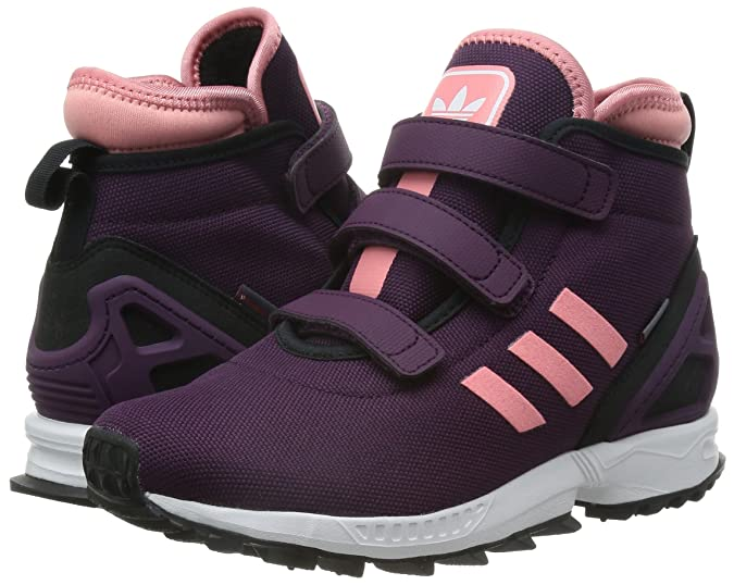 low priced e7027 4cf26 ... uk adidas zx flux winter cf k zapatillas para niño color morado rosa  c0411 1553d
