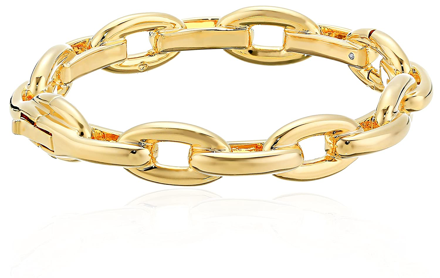Kate Spade New York Womens Link Bangle Bracelet, Gold kate spade jewelry WBRUF764711