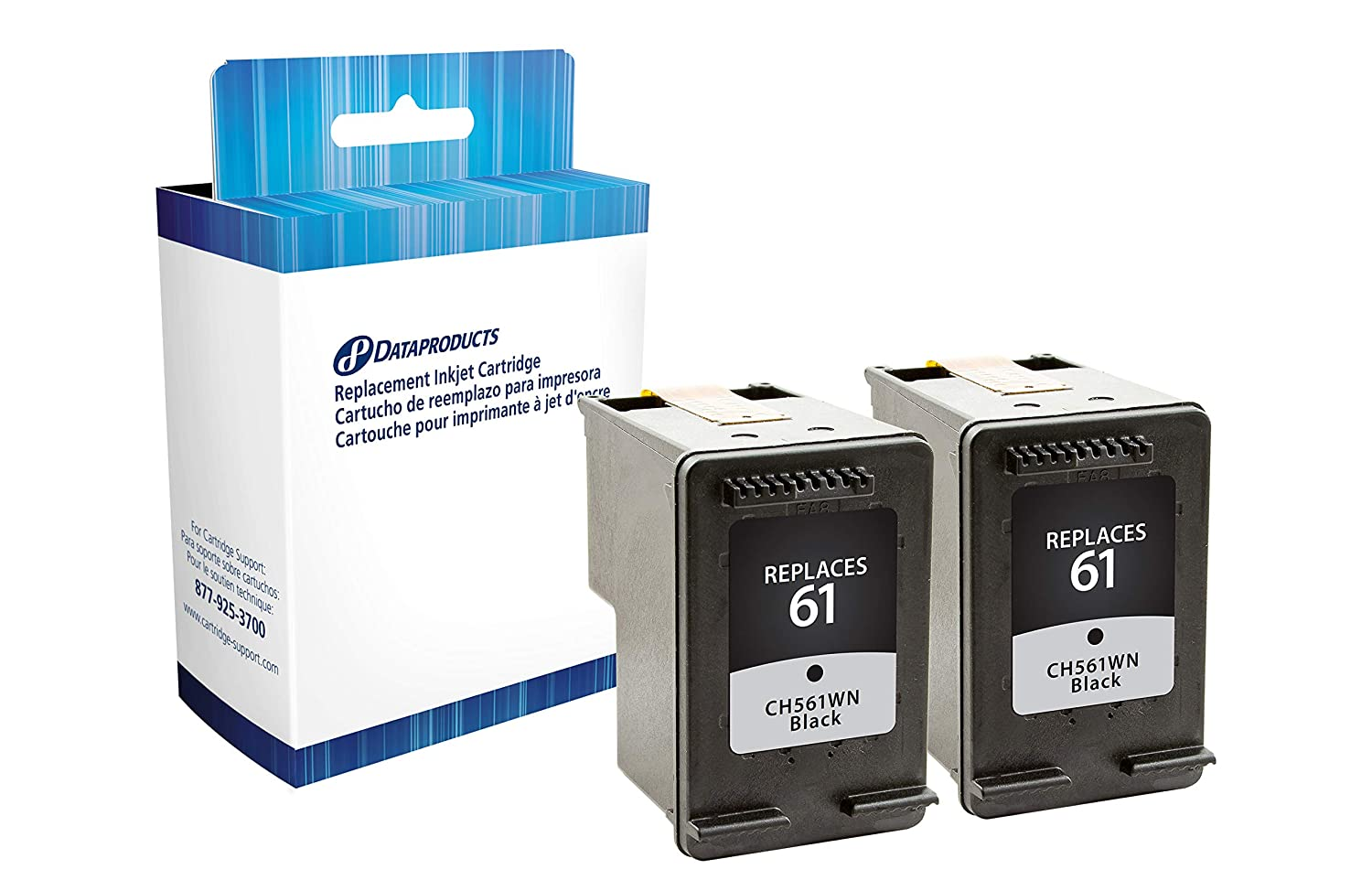 Amazon.com: Dataproducts HP 61 Inkjet Cartridges, Black ...
