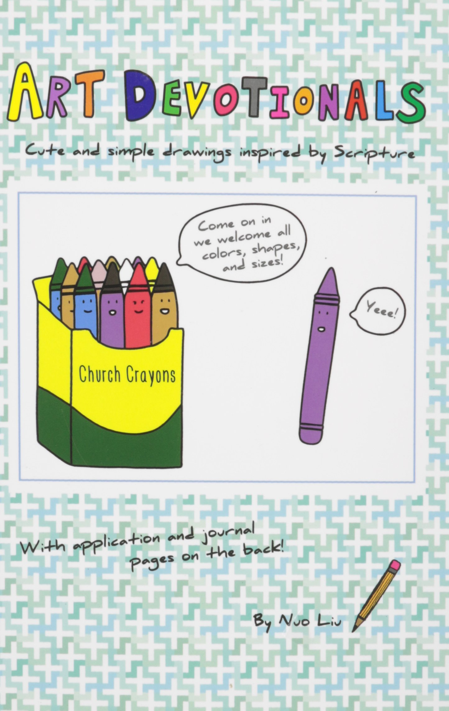 Download Art Devotionals: Cute and Simple Drawings Inspired by Scripture pdf
