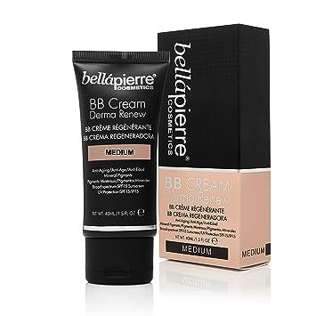 Amazon.com: bellapierre BB Cream Derma Renew (Tamaño Mediano ...