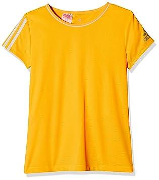 Adidas Training Clima Camiseta de Manga Corta para niña: Amazon.es: Deportes y aire libre