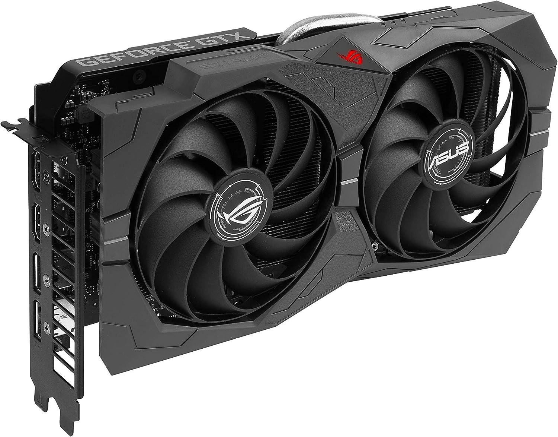 ASUS ROG Strix GeForce GTX 1660 SUPER Advanced Edition Grafikkarte GDDR5 Speicher, Axial-tech-L/üfter, DirectCU II, Auto-Extreme, FanConnect II, Advanced Edition