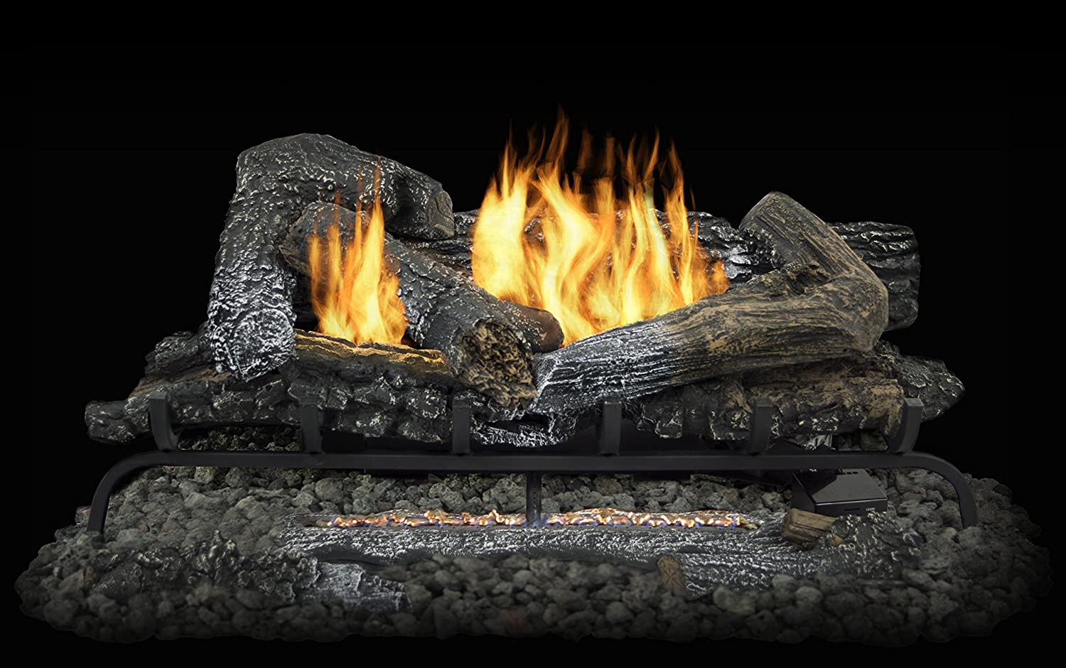 overstock at set vl willow oak hearth logs vented btus inch search pleasant log gas fireplace