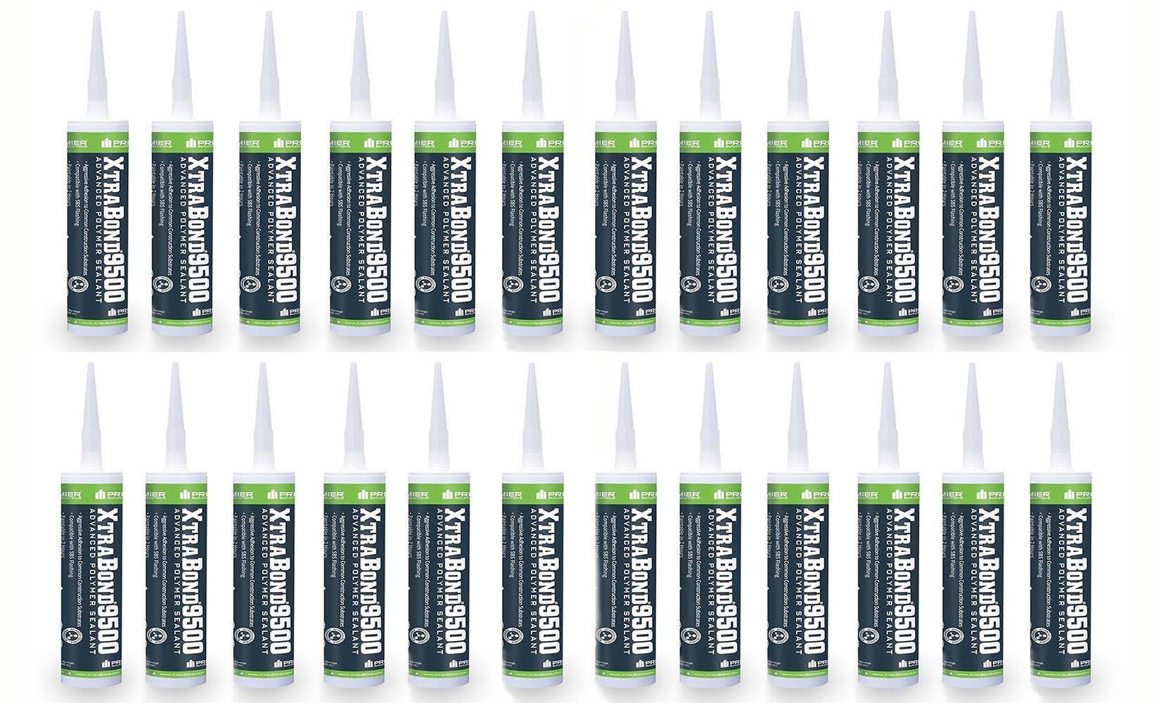 Pack of 24 - Premier Xtrabond 9500 Advanced Polymer Sealant (aluminum stone)