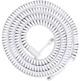 Power Gear Coiled Telephone Cord, 12 Foot Phone Cord, Works with All Corded Landline Phones, for Use in Home or Office…
