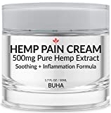 Hemp Cream for Pain Relief - Pure 500mg Extract