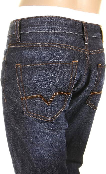 Men/'s Hugo Boss Orange 25 Fair Regular Straight Fit Denim Jeans Button Fly BNWT