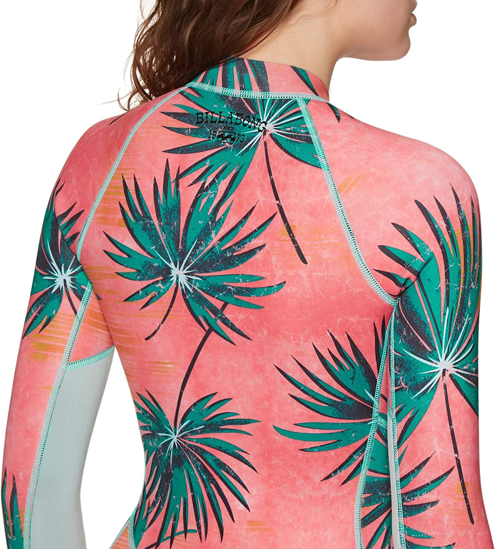BILLABONG Womens Salty Dayz 2mm LS Spring Wetsuit Coral Bay Your essential springsuit/… Long Sleeve untamed