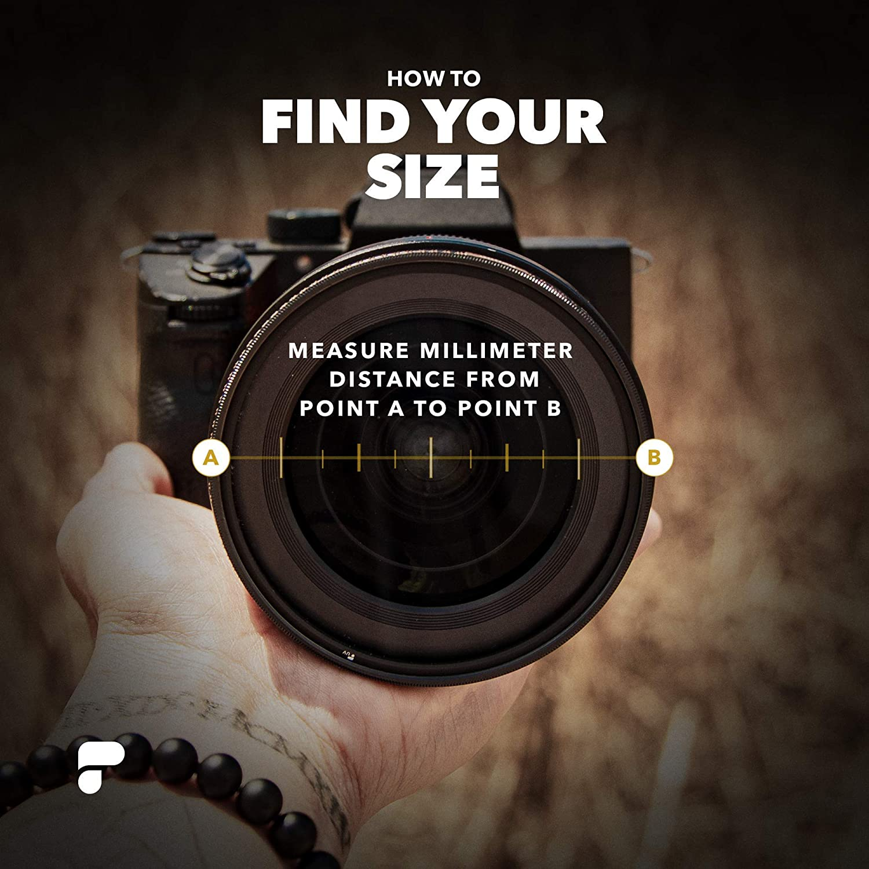 PolarPro Defender 114 Lens Cover Fits Lenses with 114.15mm-123.15mm Outer Lens Diameter